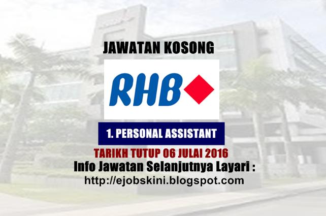 Jawatan Kosong RHB Banking Group