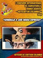 CATÁLOGO EN LÍNEA DEL I CONCURSO INTERNACIONAL DE CARICATURA Y HUMOR GRAFICO NOTICARTUNCOLOMBIA2014