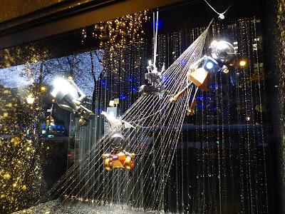 Les vitrines de Noël des grands magasins 2015