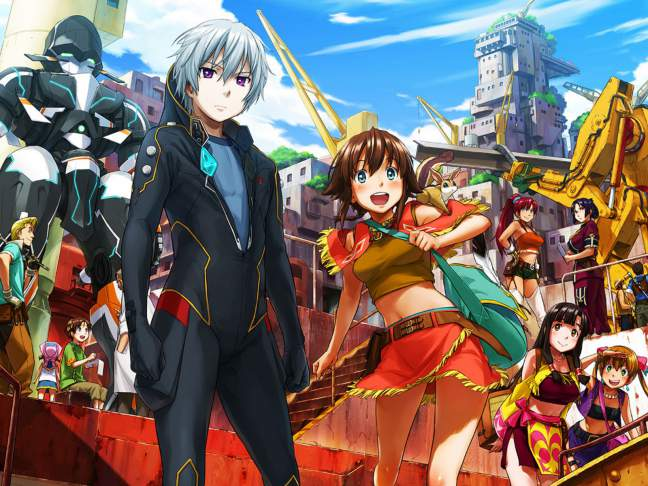 Suisei no Gargantia - Suisei no Gargantia Subtitle Indonesia (BD) : Episode 01 – 13 [END]