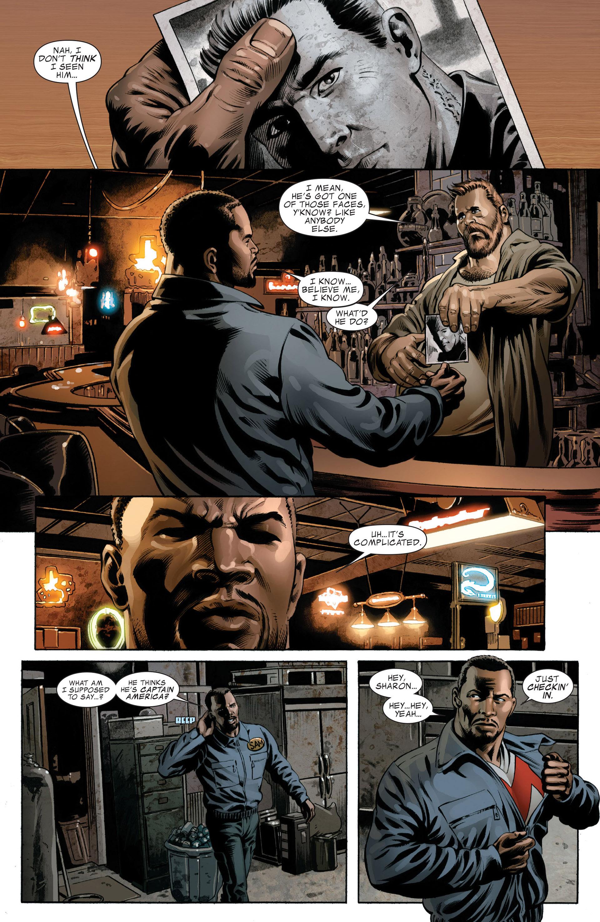 Read online Captain America (2005) comic -  Issue #49 - 11