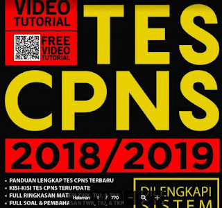 Soal SKD Test ASN, CPNS / PPPK/P3K Tahun 2019-http://www.librarypendidikan.com/
