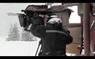 Los odiosos ocho detrás de las cámaras
