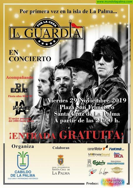 La Concejalía de Fiestas invita a disfrutar del concierto de La Guardia del 29 de noviembre