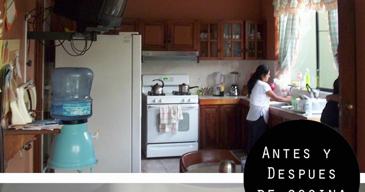 Oniria antes y despues remodelaci n de cocina for Cocinas antes y despues