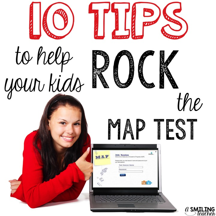 A Smiling Teacher Get Your Students Ready For The NWEA MAP Test - Map testing