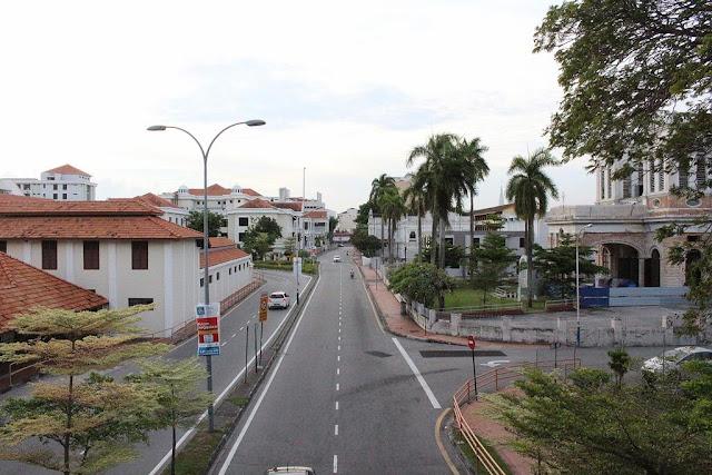 jalanan di penang