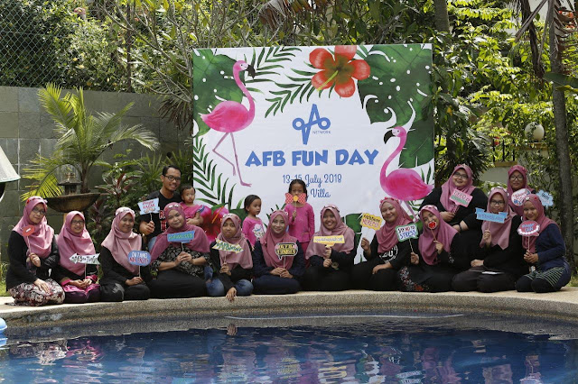 afb fun day, blogger gathering, afb fun day di taj villa ampang, lokasi afb fun day, blogger number 1 malaysia,