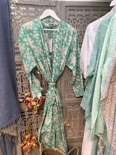 Dilli Grey Kimono Dressing Gown