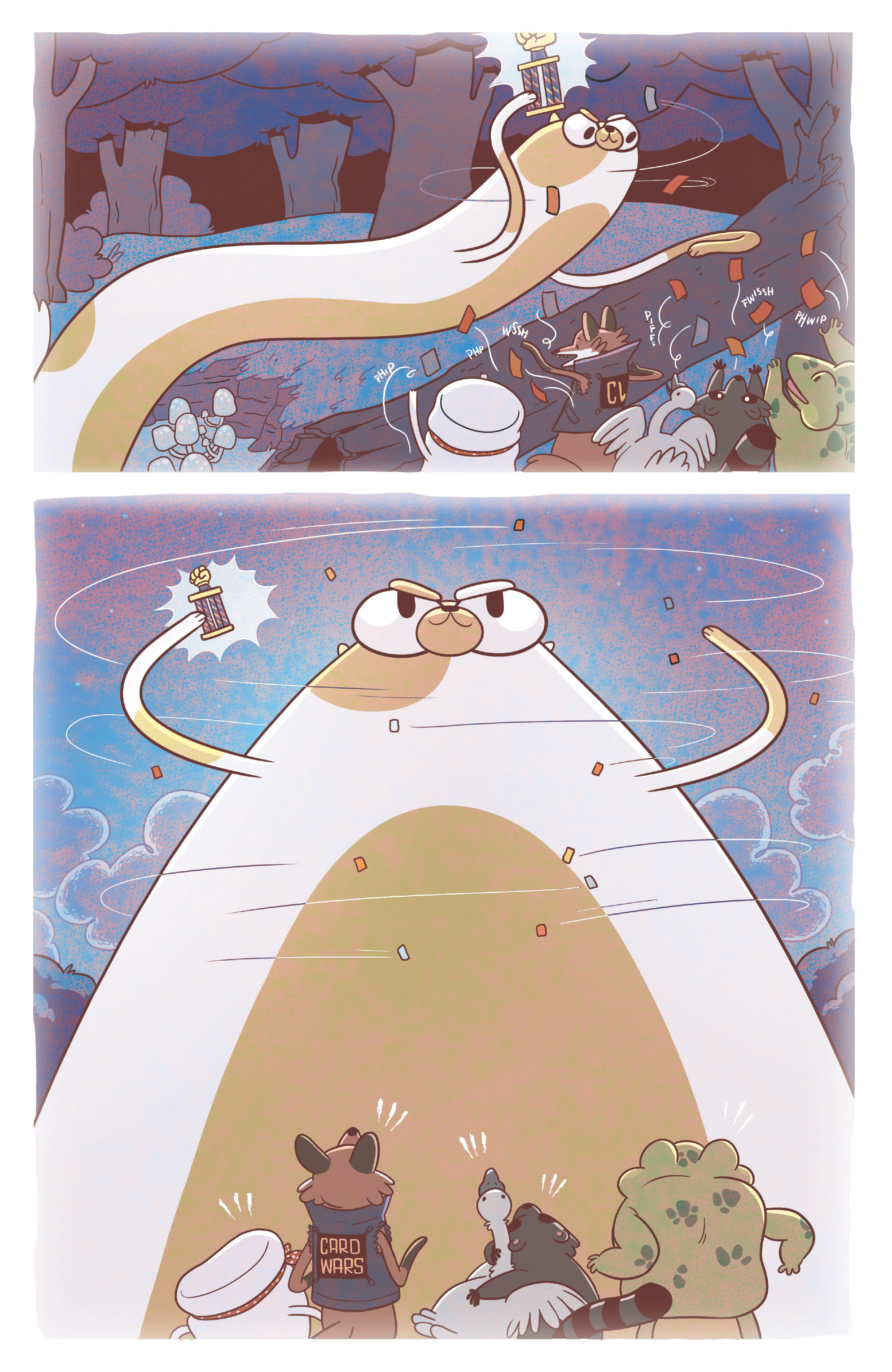 Read online Adventure Time Fionna and Cake Card Wars comic -  Issue #3 - 7