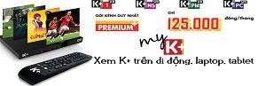 truyen hinh Kplus HD 130 Kênh
