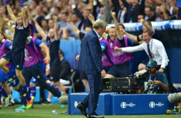 Roy Hodgson resigns as England coach after Euro defeat by Iceland