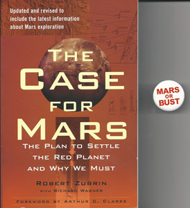 Yes, picked up Dr. Robert Zubrin's book at the Mars Society Conference