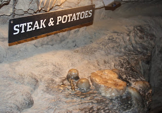 Steak And Potatoes At Ruby Falls, Steak And Potatoes, Ruby Falls