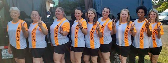 Roncador: Bolão Feminino fazendo bonito no JAP'S - Fase final