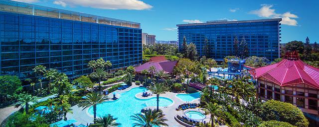Hotéis próximos ao parque Disneyland na Califórnia
