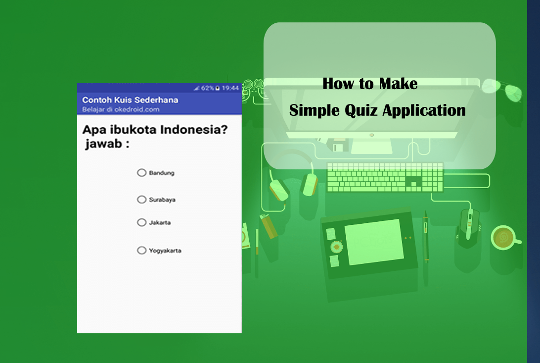 Android Quiz App Tutorial Android Studio - gaurani