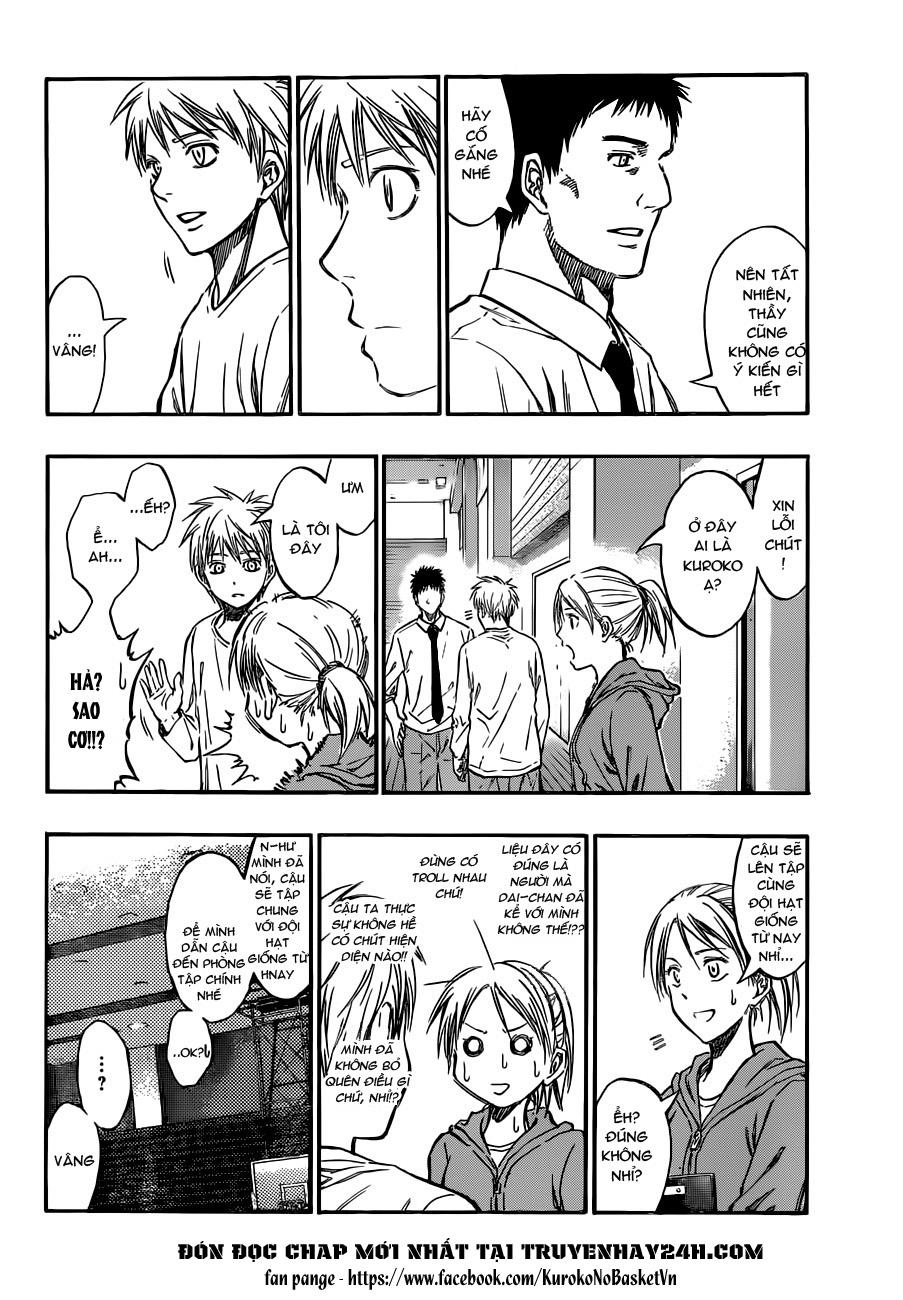 Kuroko No Basket chap 207 trang 10