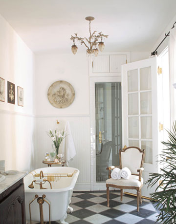 french provincial interior bathroom design | Cottage Bathroom~Inspirations - FRENCH COUNTRY COTTAGE