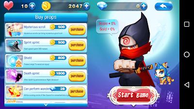 Download Sprint Ninja v1.0.2 Apk Screenshot 3
