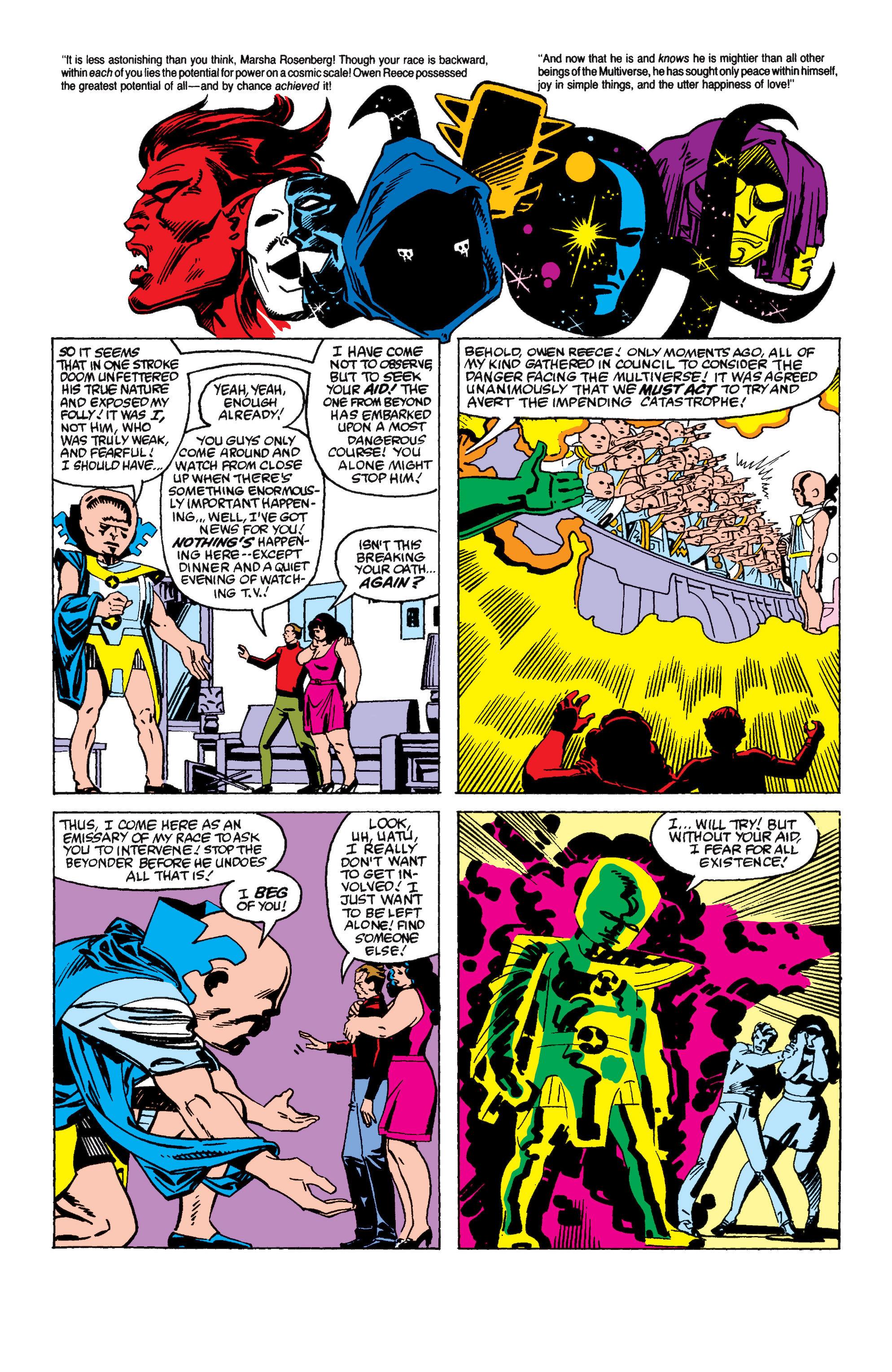 Read online Secret Wars II comic -  Issue #6 - 14