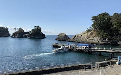 堂ヶ島 洞窟めぐり遊覧船