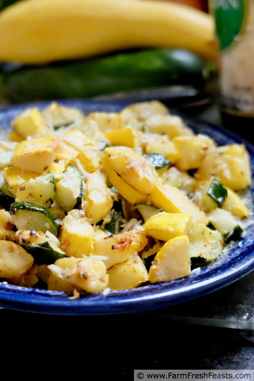 how to cook zucchini and yellow squash
