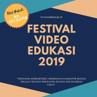 Lomba Festival Video Edukasi (FVE) KiHajar 2019