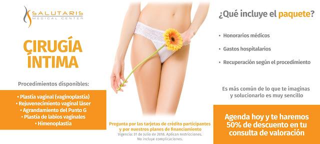 Paquetes cirugia vaginal Guadalajara Mexico