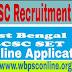 WBCSC Recruitment 2017 - Asstt. Professor Post of Various Department in West Bengal Colleges |