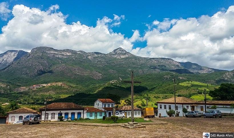 Praça Monsenhor Mendes - O que fazer em Catas Altas, Minas Gerais