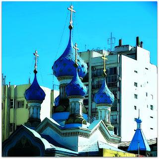 Torres da Iglesia Ortodoxa Russa, Buenos Aires