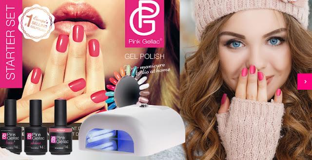 Manicura permanente Kit de inicio Pink Gellac