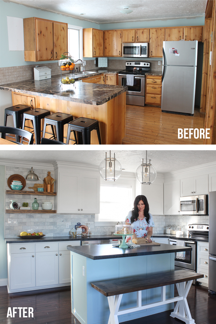 Dramatic Kitchen Makeover