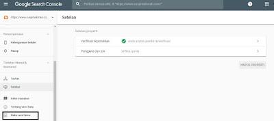 klik web master tool versi lama