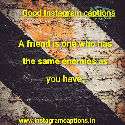 Good Instagram Caption about friend