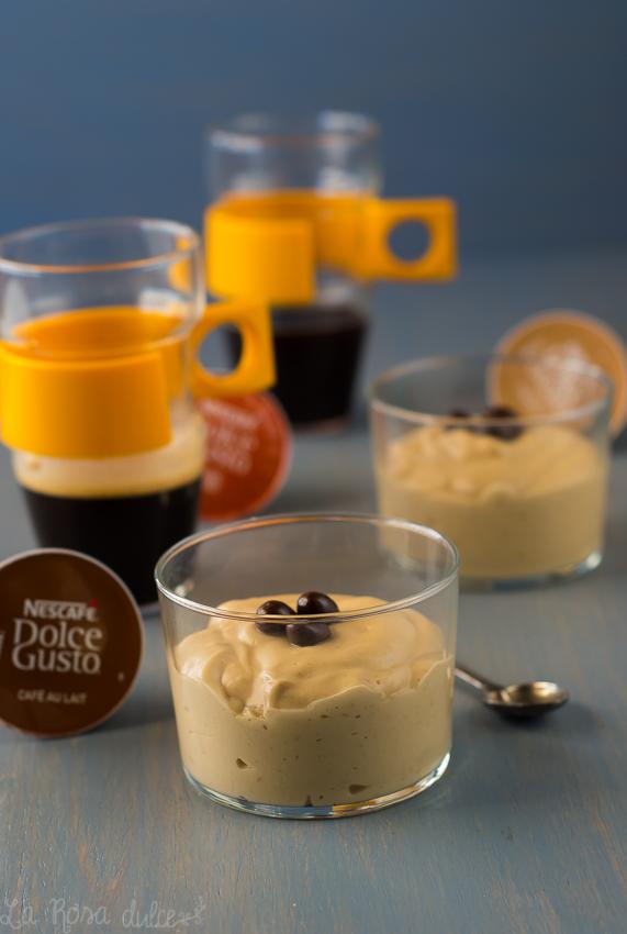 Crema chiboust de café y amaretto para San Valentín #singluten #sinlactosa