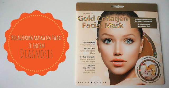 RECENZJA: Kolagenowa maska na twarz ze złotem | Diagnosis