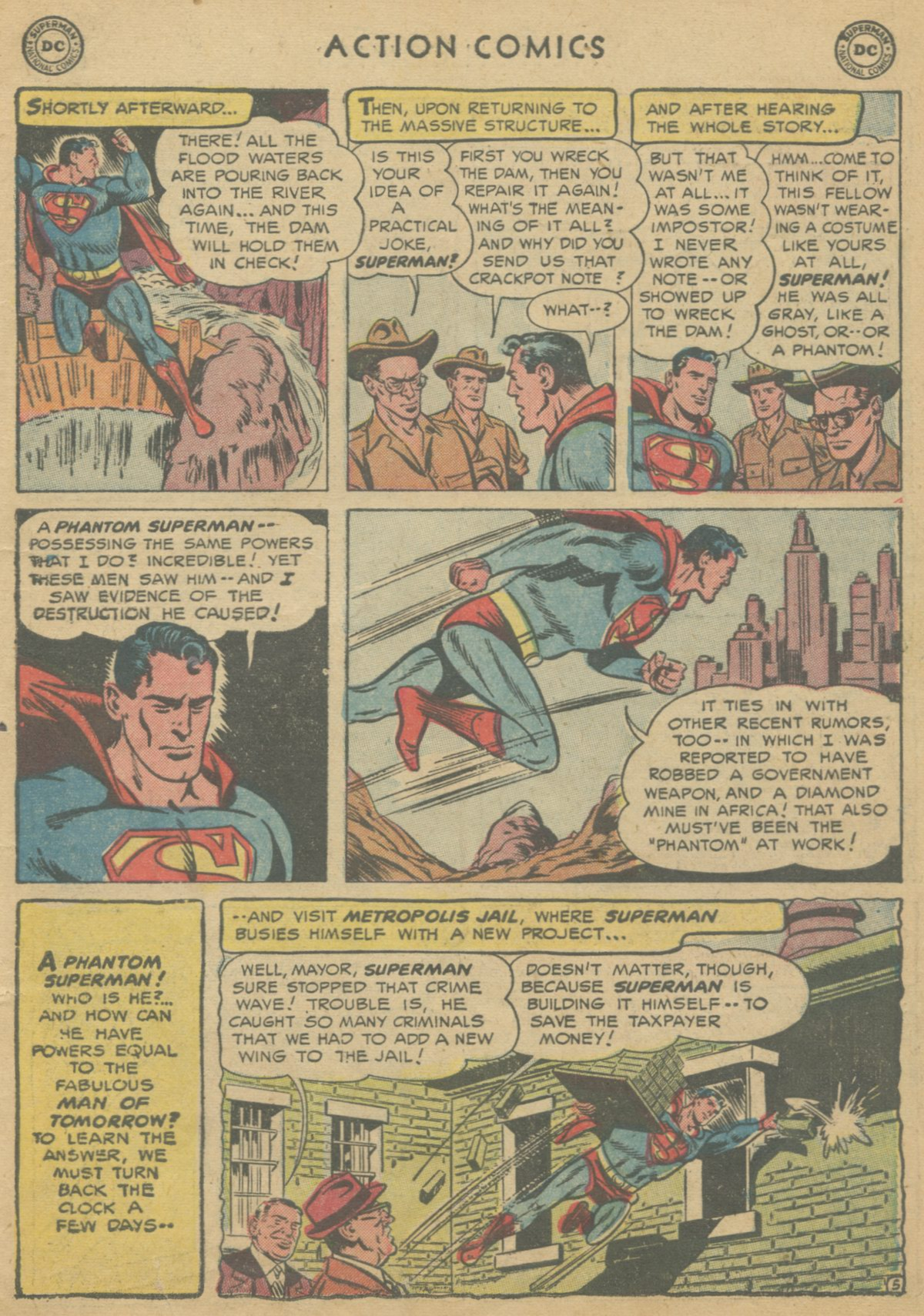 Read online Action Comics (1938) comic -  Issue #199 - 8