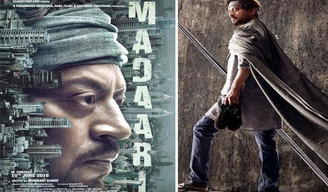 इरफान ने रिलीज किया 'मदारी' फिल्म का पहला पोस्टर