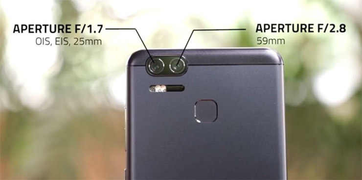 hp dual camera - Asus Zenfone Zoom S