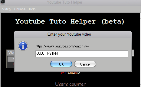 Testing Youtube tuto helper