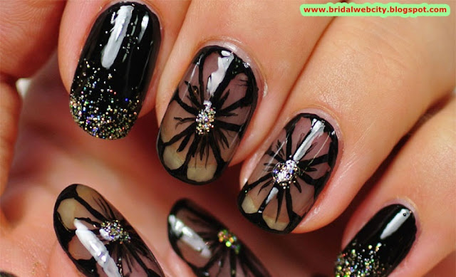 Nail Designs and Ideas You Wish To Try www.bridalwebcity.blogspot.com