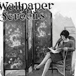 Wallpaper Covered Folding Screens For Home Or Office