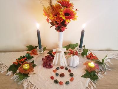 Mabon Altar 2018