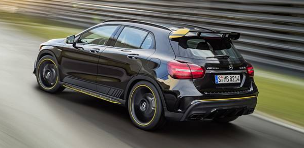 2018 Mercedes AMG GLA45 Expressive Design, Technical Performance