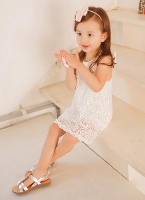 Baby Sleeveless Ribbon Dress