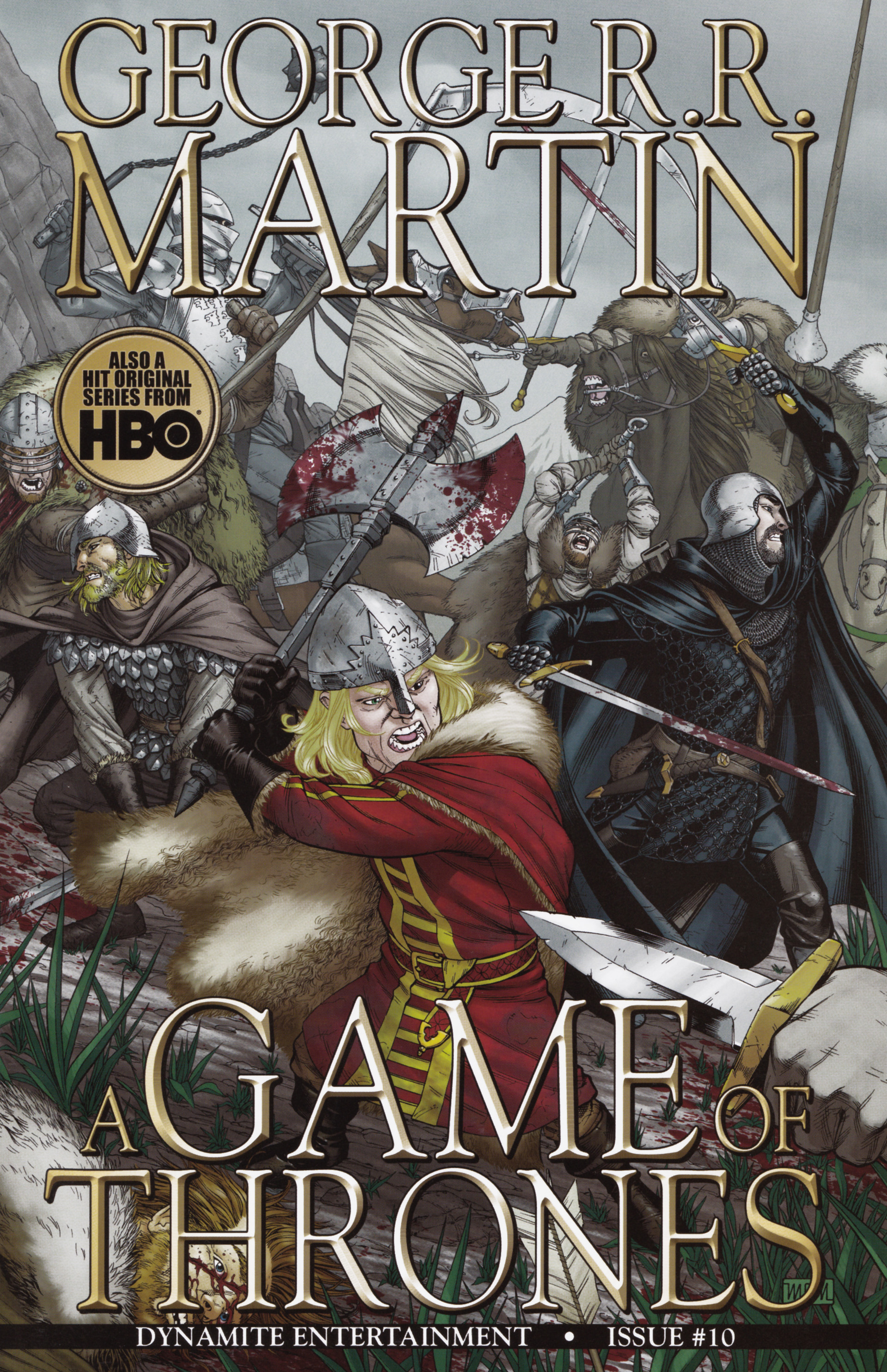 Read online A Game Of Thrones comic -  Issue #10 - 1