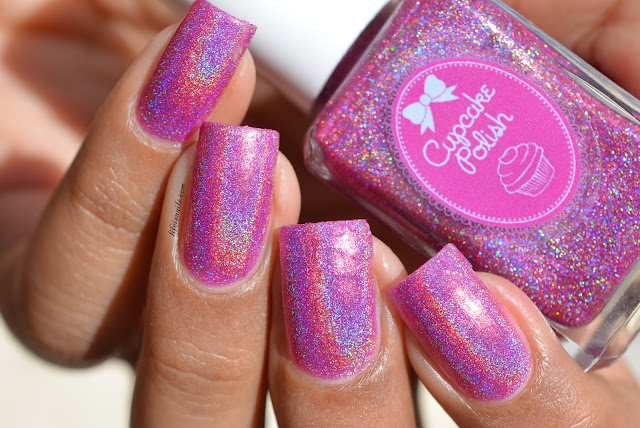 Cupcake Polish Hatch of the day