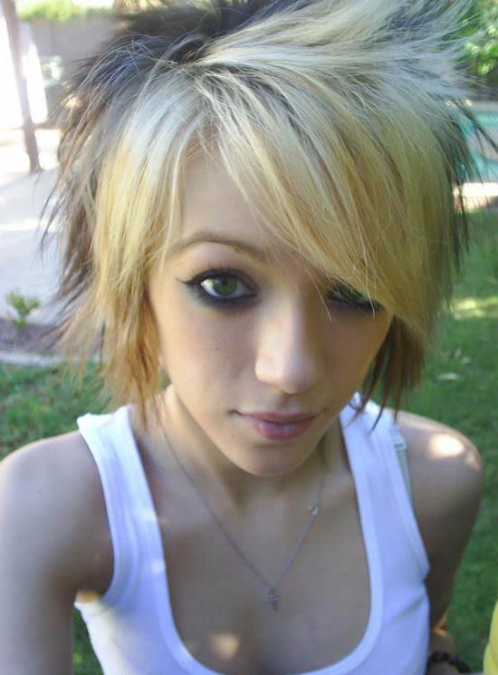 New Short Emo Hairstyles